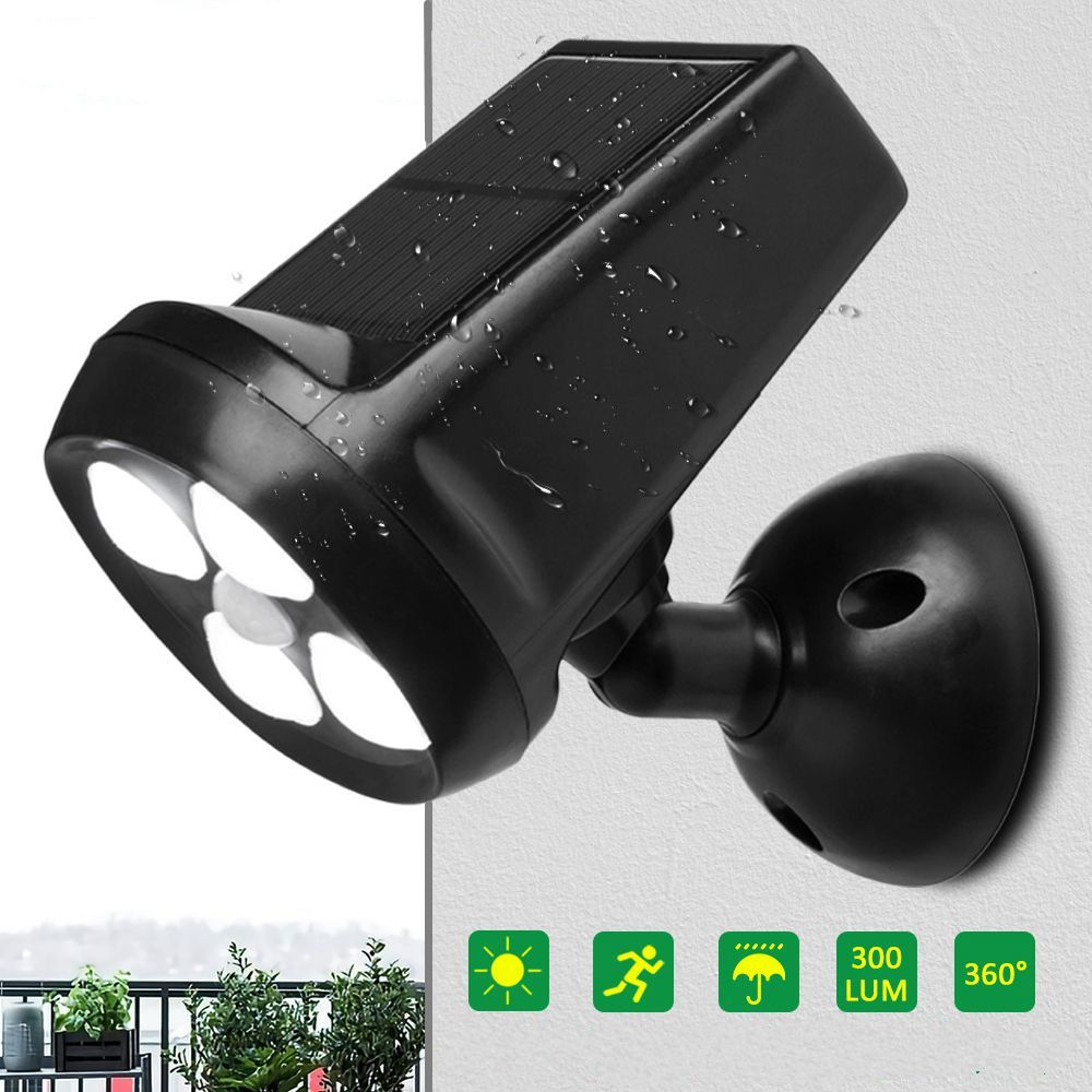 Outdoor Solar Wall Light 40//60//100//210LED Waterproof Pathway Motion Sensor Lamp