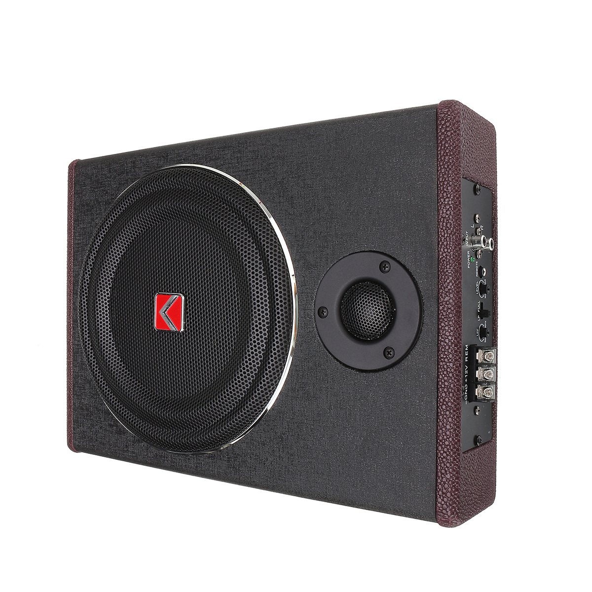 8 Inch 600W Car Subwoofer Speaker Active Under Seat Slim