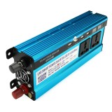 4000W Peak Power Inverter LED Display 12V/24V DC to 220V AC Dual Screens Modified Sine Wave Inverter