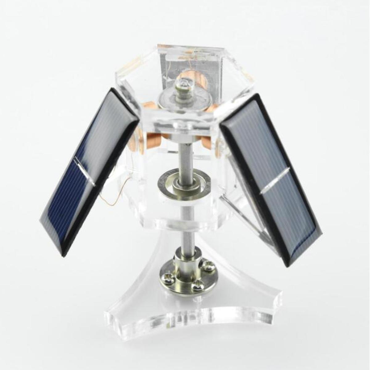 STARK-6 Solar Magnetic Levitation Mendocino Motor Education Model Steam Stirling Engine