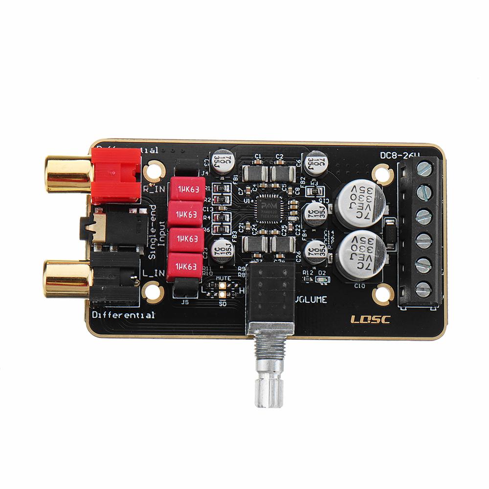 DC12V-24V 15Wx2 Dual Channel Digital Amplifier Board PAM8620 Stereo Class D Amplifier Module
