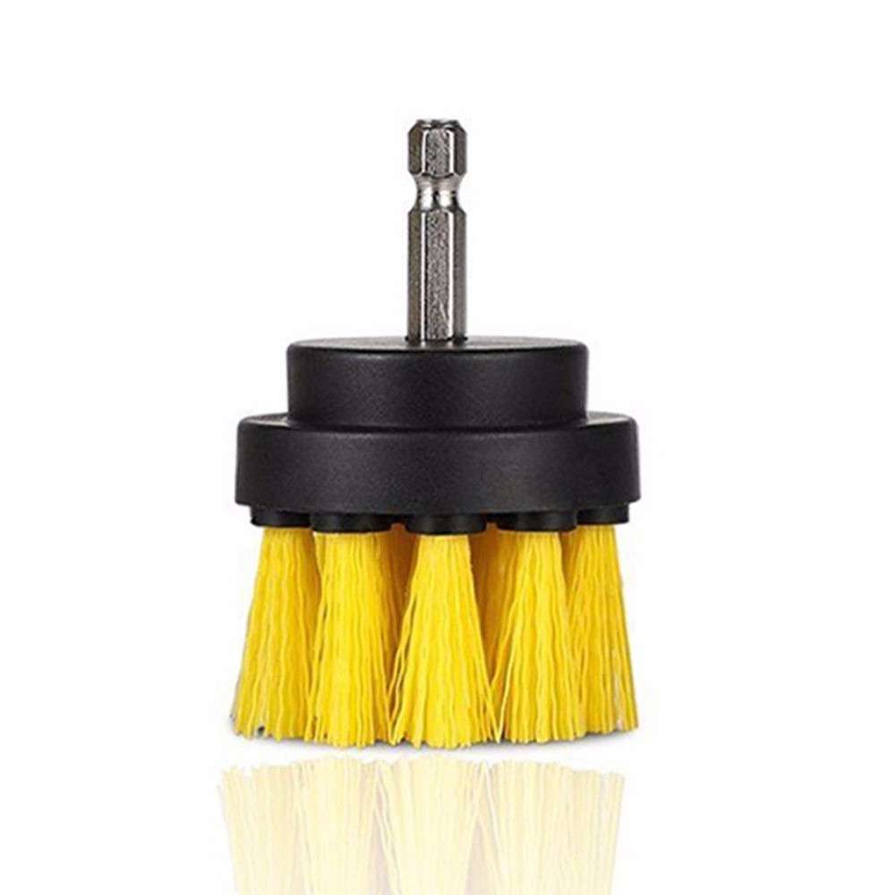 3Pcs 2+3.5+5 Inch Electric Drill Brush Cleaning Brush Set Ball Power Scrubber Comb