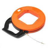 45m/60m/75m Fiberglass Cable Puller Fish Tape Reel Conduit Ducting Rodder Pulling Puller