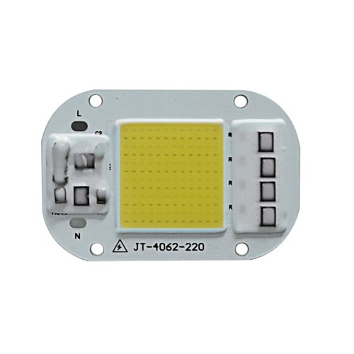 LUSTREON AC160-260V 20W 30W 50W White/Warm White COB LED Chip for DIY Flood Light
