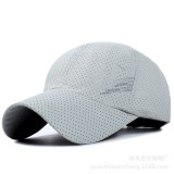 Mens Summer Mesh Strapback Dad Hats Sport Snapback Quick Dry Baseball Caps