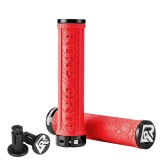 ROCKBROS Bicycle Grips TPR Rubber Bike Handlebar MTB Grips Soft Lock On Handlebar Cycling