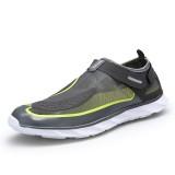 Men Lightweight Breathable Hook Loop Mesh Sneakers Outdoor Shoes