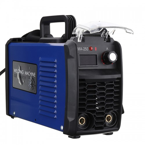 220V Portable IGBT ARC MMA 200 Amp Welding Inverter DC ARC Welding Machine EU Plug