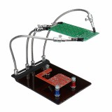 YP-004 PCB Fixture Base Arms Soldering Station Helping Hands with Universal 4 Flexible Arms