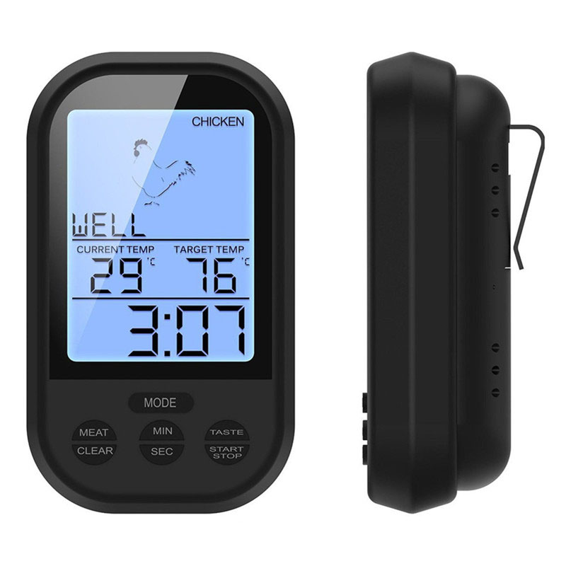 Digital Meat BBQ Thermometer Wireless Kitchen Oven Food ...