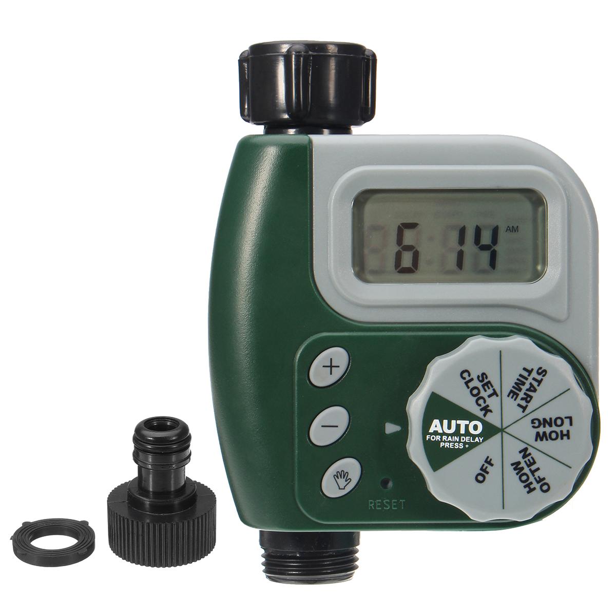 Orbit Electronic Water Tap Timer Garden Irrigation Control Unit Digital LCD