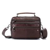Ekphero Men Large Capacity HandBag Shoulder Crossbody Bag