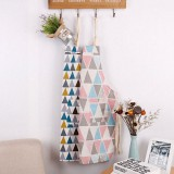 Honana Cotton Sleeveless Apron Triangular Lattice Kitchen Cooking Simple Aprons Cotton Linen