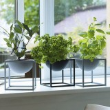 20cm Flower Pot Holder Metal Pot Stand Planter Garden Home Decorations Flower Display Rack