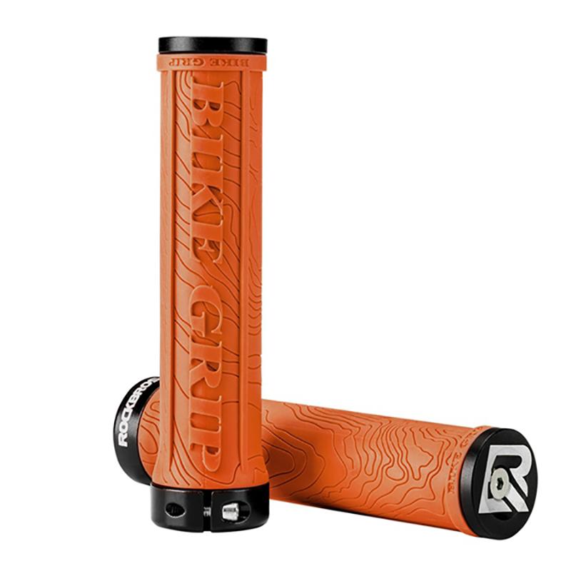 ROCKBROS Bicycle Grips TPR Rubber Bike Handlebar MTB Grips Soft Lock On Handlebar Cycling