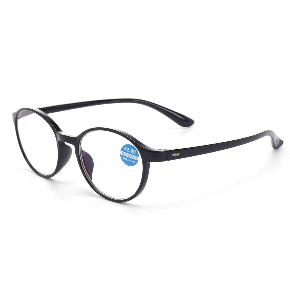 5f76e17f28a8 Unisex Round Lightweight Reader Reading Glasses Spring Hinge Computer  Glasses