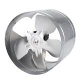 10Inch 4Inch Inline Duct Fan Metal Booster Fan Blower Intake Out-Take Ventilation Fan