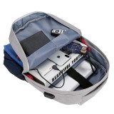 Outdoor Camping Nylon 25L USB Charging Backpack Waterproof Large Big Capacity Laptop Bag