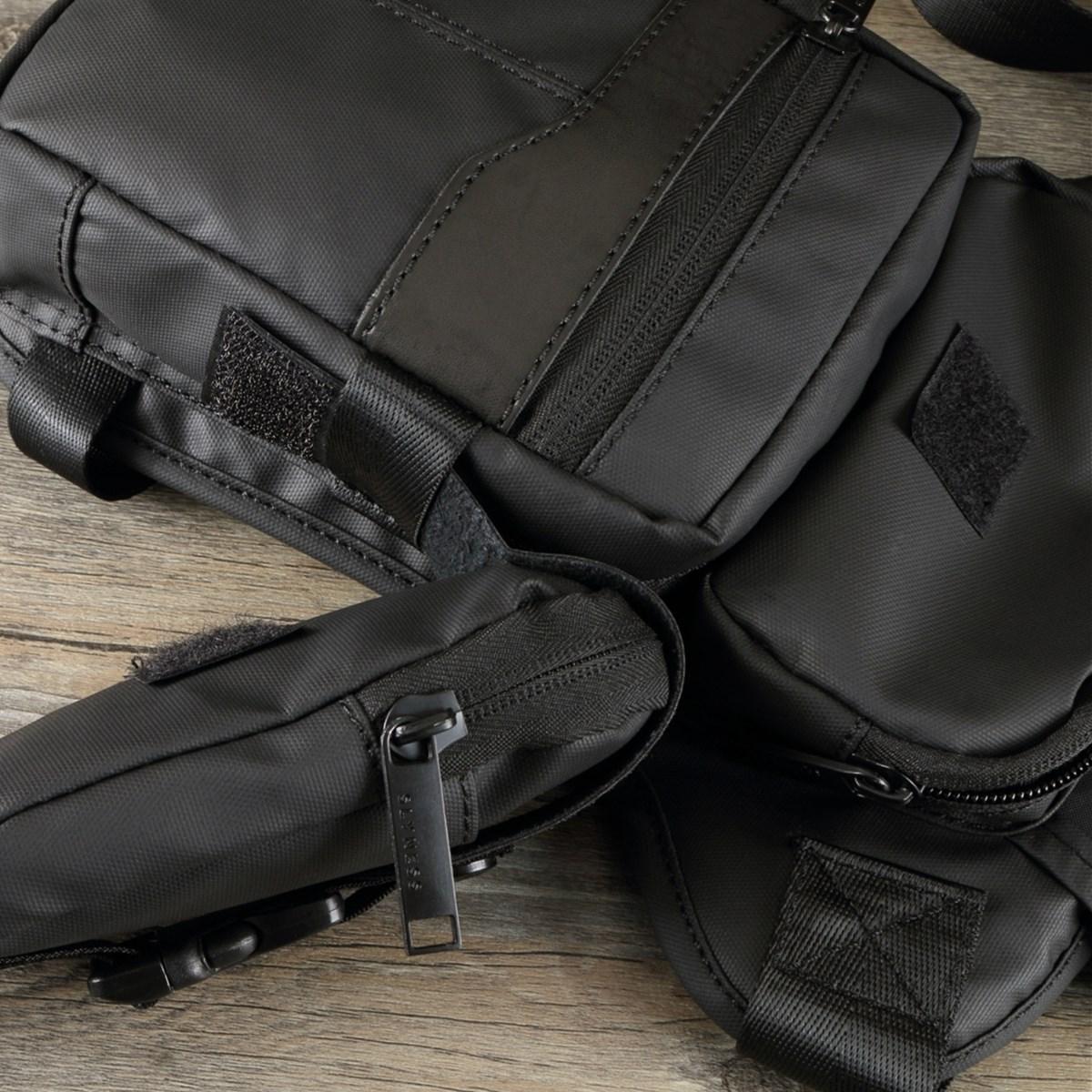 Men Waterproof Waist Chest Fanny Bag Travel Hiking Hip Bum Drop Belt Leg Pack Pouch