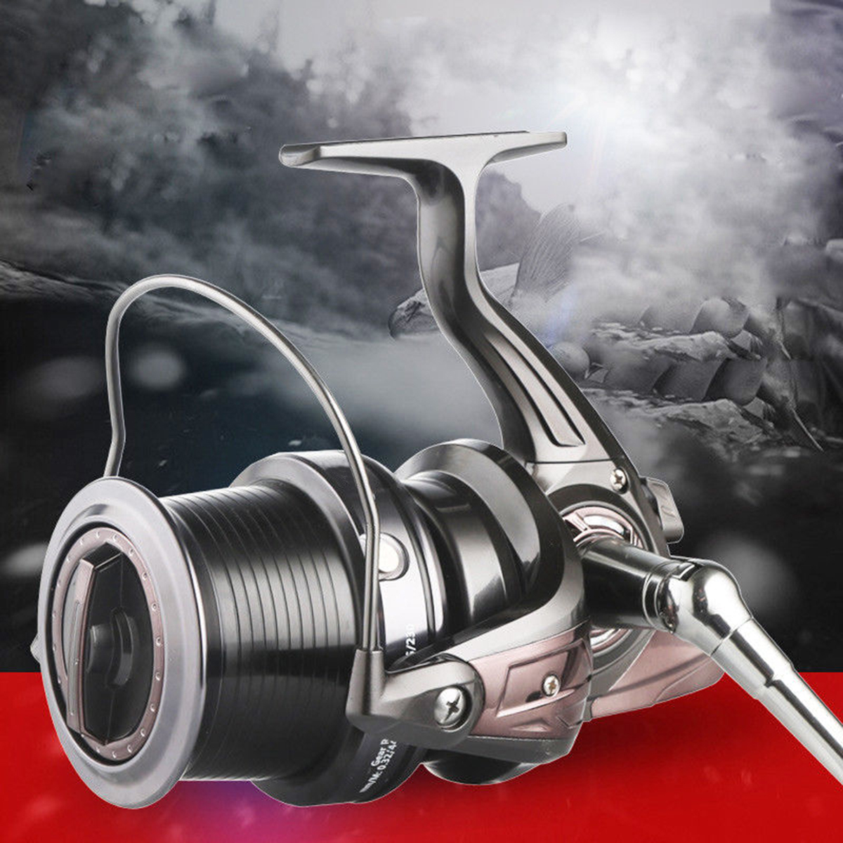 ZANLURE 5.1:1 13+1BB Metal Spinning Reel 5000 6000 9000 Long Casting Saltwater Fishing Reel