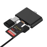 Universal Type-c USB 3.0 Micro USB Flash Memory Card TF SD Card Reader OTG for Xiaomi Mobile Phone