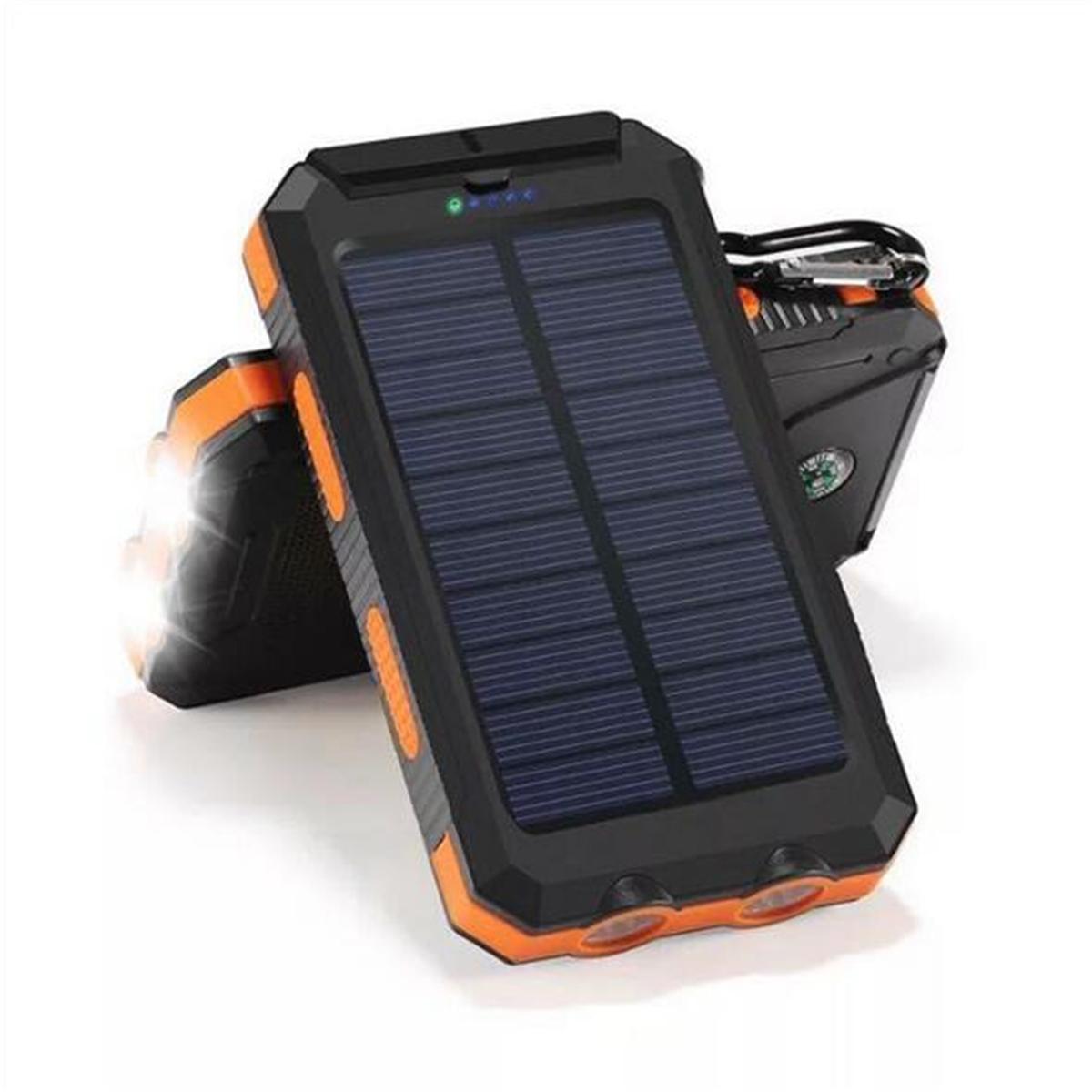 Bakeey 20000mAh Dual USB DIY Solar Power Bank Case Kit ...