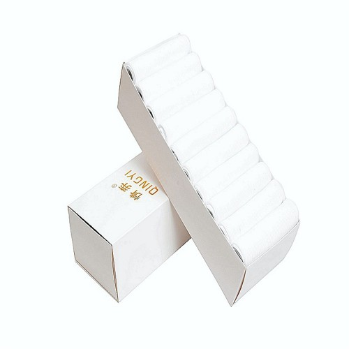5 Pairs Set Men Summer Fiber Solid Color Short Tube Socks Breathable Deodorant Soft Sock