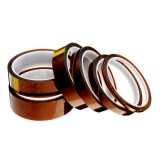 5mm/10mm/15mm/20mm/25mm/30mm High Temperature Polyimide Film Heat Resistant Tape For 3D Printer