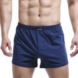 Mens Casual Home Boxers Cotton Arrow Shorts Loose Underwear