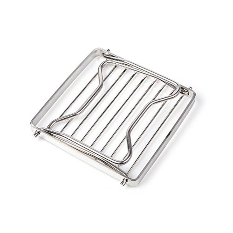 BBQ Grill Stainless Steel Grill Rack Barbecue Grill Portable Folding Mini Pocket BBQ Grill Barbecue