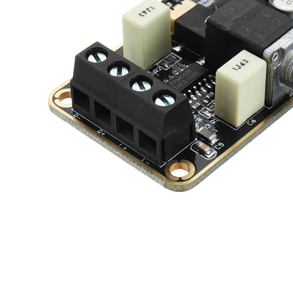 5Wx2 Stereo Dual Channel Digital Amplifier Board PAM8406 Audio Amplifier Module 5V Class D Amplifier