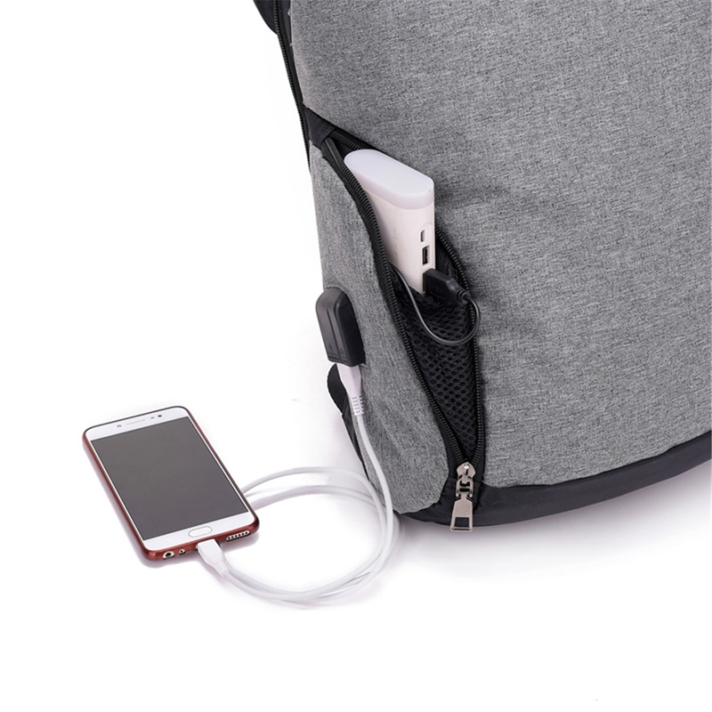 18L Anti-theft Backpack USB Charge Laptop Travel Bags