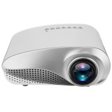 3D 1080P Portable LCD LED Mini Projector 600 Lumens 480×320 USB VGA TV AV Office Home Theater