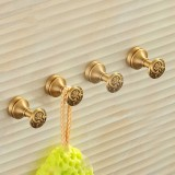 WANFAN MD-979 Home Bathroom Decorative Antique Wall Mounted Hook Single Hanging Hooks Towel Hook