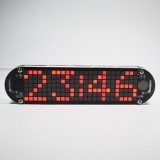 Geekcreit DS3231 High Accuracy Multifunction LED Dot Matrix Animation Effects Clock DIY Kit