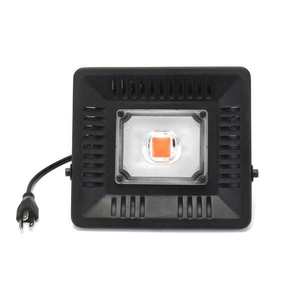 50W Waterproof Full Spectrum LED Grow Light Single Head Hangable COB Plant  Lamp 110/220V