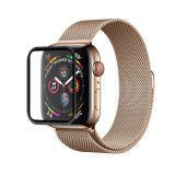 2 PCS ENKAY Hat-Prince 3D Full Screen PET + 3D Full Screen Electroplating PET Curved Heat Bending HD Screen Protector for Apple Watch Series 4 40mm