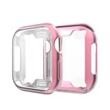 Full Coverage Plating TPU Case for Apple Watch Series 4 44mm (Pink)