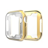 Full Coverage Plating TPU Case for Apple Watch Series 4 44mm (Gold)