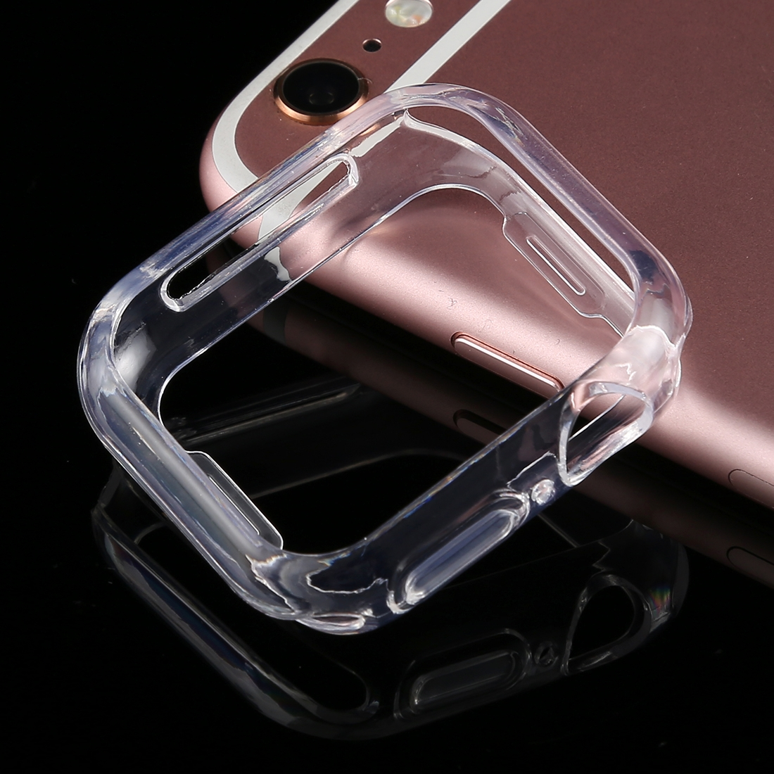 new products 3f745 4fe5a Full Coverage TPU Case for Apple Watch Series 4 40mm