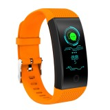 QW18 Fitness Tracker 0.96 inch HD Color Screen Smartband Smart Bracelet, IP68 Waterproof, Support Sports Mode / Sleep Monitor / Bluetooth Camera / Heart Rate Monitor (Orange)
