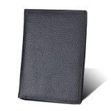 8219 Antimagnetic RFID Men Multi-functional Wallet Card Bag Passport Package