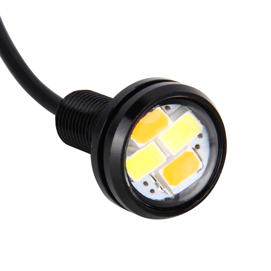 20w Smd Led 12v: 10 PCS 20W 4 LEDs SMD 5630 White Light + Yellow Light