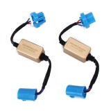 2 PCS 9004 9007 LED Headlight Anti Flicker Resistor Canceller Decoders