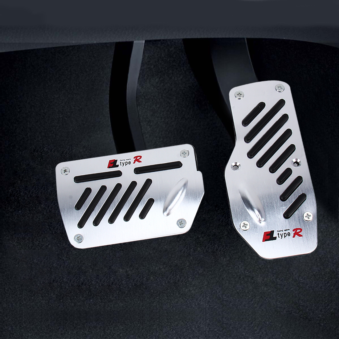 how to change foot pedals in a car
