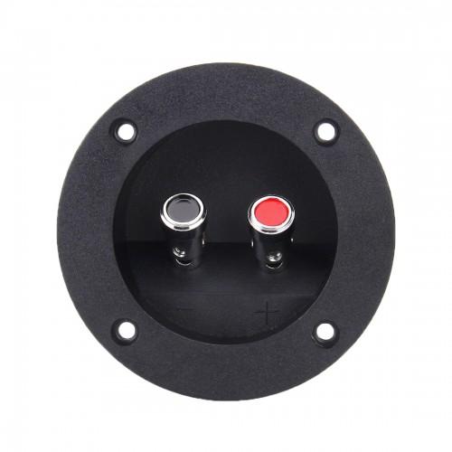 2 PCS DIY Home Car 2 Way Speaker Box Terminal Cup Subwoofer Plugs Stereo Binding Post