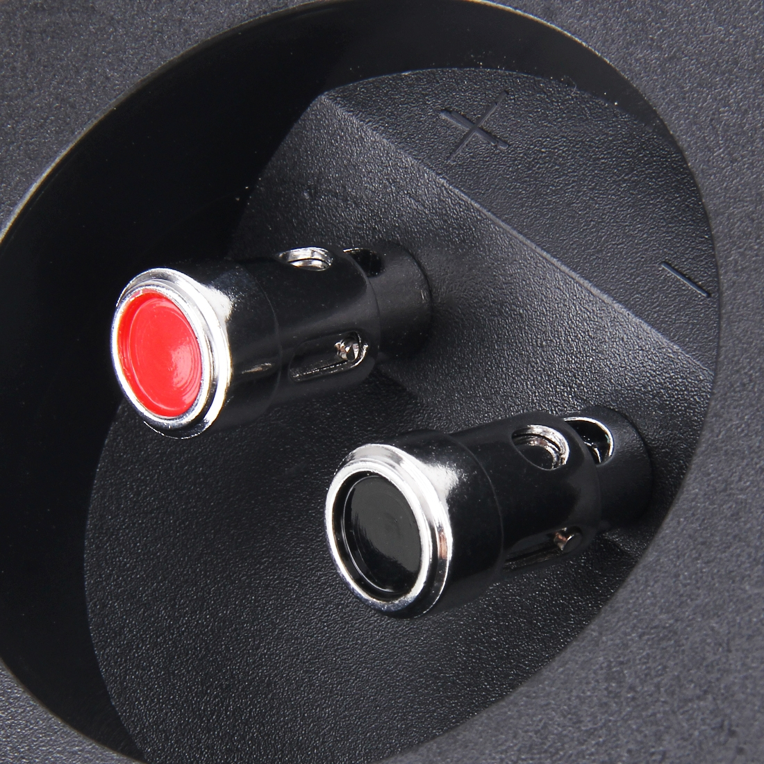 2 PCS DIY Home Car 2 Way Speaker Box Terminal Cup Subwoofer Plugs Stereo Binding Post