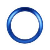 Car Engine Start Key Push Button Ring Trim Aluminum Alloy Sticker Decoration for Mazda (Blue)