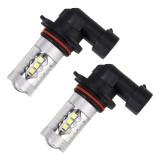 2 PCS HB3 / 9005 DC 12V 5W 250LM Auto Car Fog Lights with 16 SMD-2835 LED Bulbs (White Light)