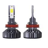 EV8 2 PCS H8 / H9 / H11 36W 3000LM 6500K DOB LED Headlight Bulbs High Beam Conversion Kit DC 9-32V (Xenon White)